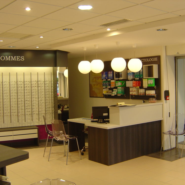 Magasin d'optique Les Opticiens Mutualistes – Clisson