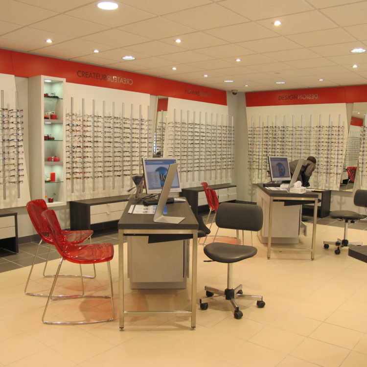 Magasin d'optique Les Opticiens Mutualistes – Saint Herblain