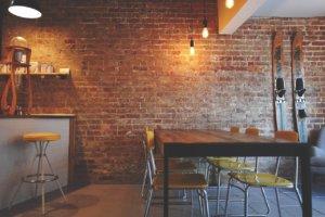 agencement de restaurant, Alpha&Oméga